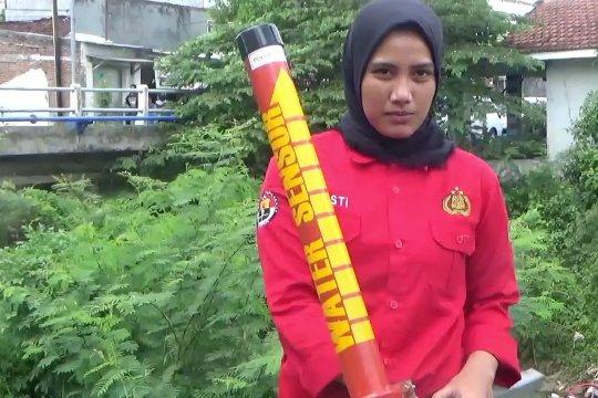 Antisipasi banjir, Polres Jember pasang sistem peringatan dini banjir