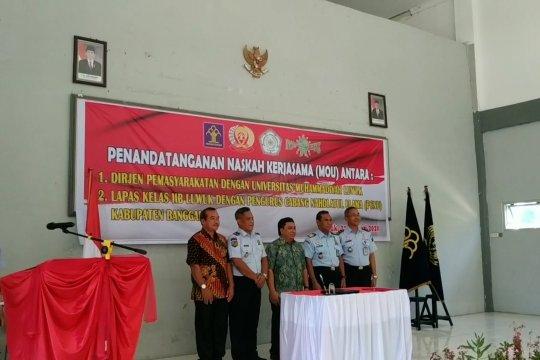 Lapas Klas IIB Luwuk beri kesempatan berkuliah kepada warga binaan dan petugas lapas
