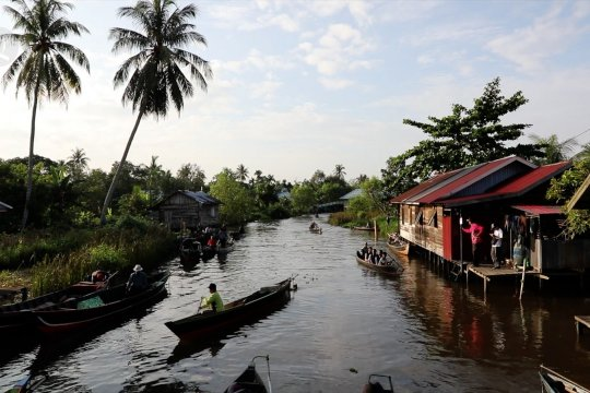 Mengenal Kampung Sungai Biuku, destinasi wisata Banjarmasin