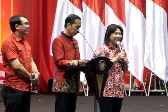 Minta ke Jokowi, mantan atlet Susi Susanti diberi sepeda