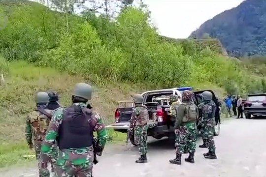 Tni-Polri sergap KKB Intan Jaya, satu anggota KKB tewas