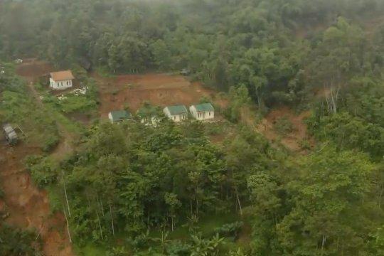 BNPB sebut longsor di Kabupaten  Bogor seperti lelehan es krim