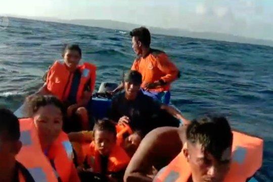 KM Risvin Pratama tenggelam di perairan Banggai Laut