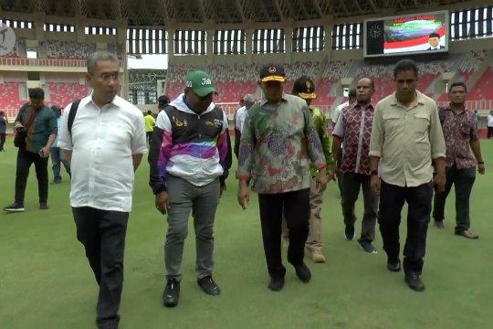 Menko PMK tinjau pembangunan venue PON Papua