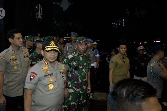 Polda Metro Jaya jaga keamanan perayaan tahun baru di Jakarta