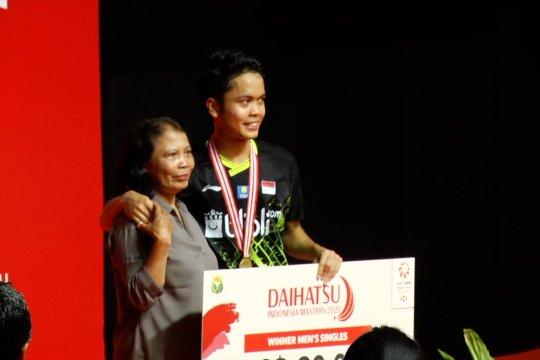 Anthony Ginting raih juara Indonesia Masters