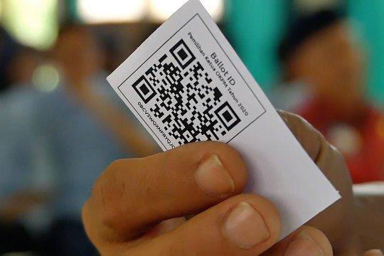 Disabilitas netra terapkan teknologi e-voting