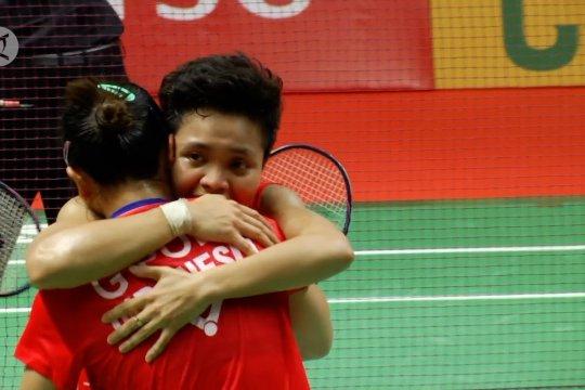 Juara Indonesia Masters, Greysia/Apriyani menang secara dramatis
