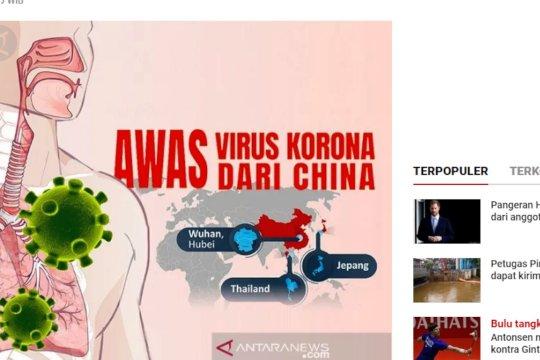 Kemenkes terbitkan surat edaran waspada Pneumonia Wuhan