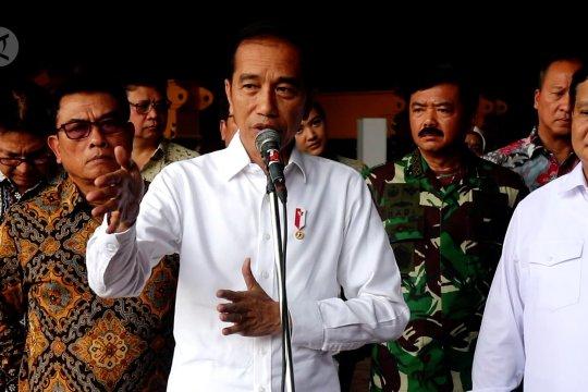 Presiden imbau masyarakat waspadai gejala virus Corona