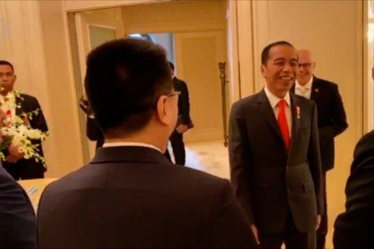 Presiden Jokowi pertemuan bilateral dengan Presiden Armenia