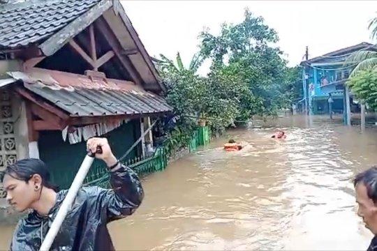 Sejumlah wilayah di Tangerang Selatan terendam banjir