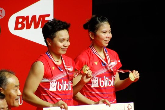 Sempat terpuruk, Greysia Polii/Apriyani Rahayu Juara Indonesia Masters 2020