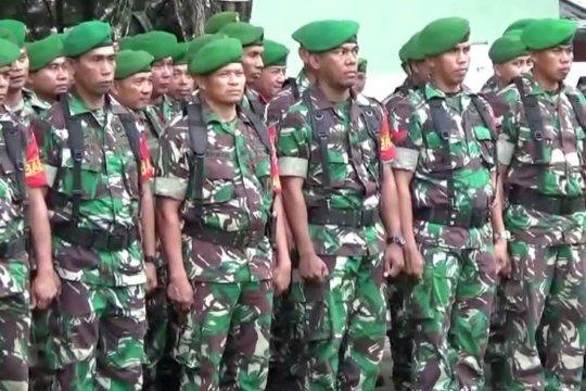 Menyiagakan pasukan menghadapi ancaman bencana alam