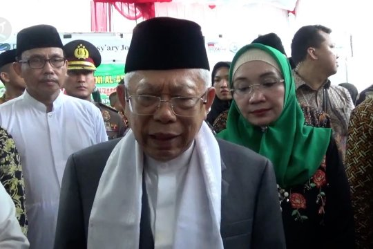 Wapres dorong pesantren jadi pusat perekonomian syariah