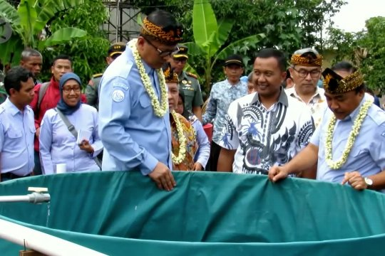 KKP dorong budidaya lele di Kabupaten Bandung dengan bioflok