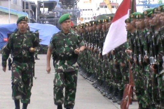 Pangdam Hasanuddin sambut 600 personel pasca tugas di Papua