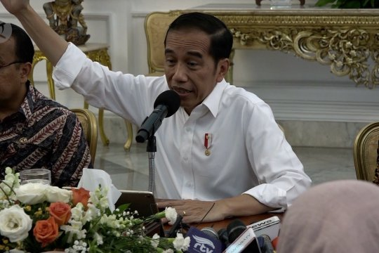 Presiden bantah UU baru lemahkan KPK