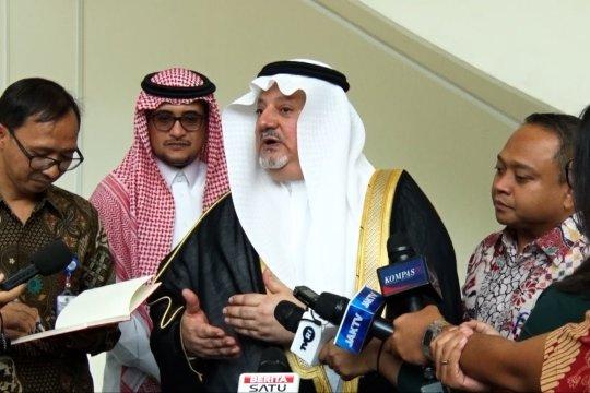 Terima Dubes Saudi, Wapres Ma'ruf bahas mendalam soal ibu kota baru