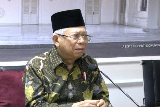 Wapres Ma'ruf Amin : Indonesia suarakan damai Iran dan AS