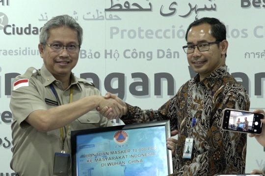 Indonesia kirim 10 ribu masker N95 untuk WNI di Wuhan
