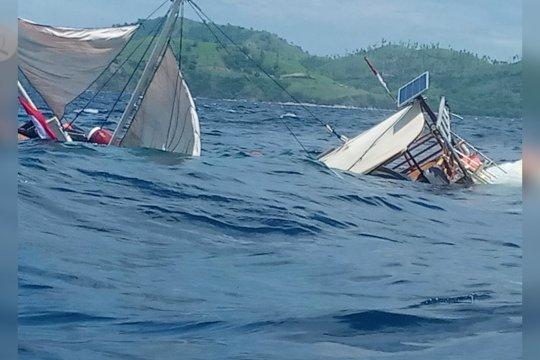 Kapal yang ditumpangi wartawan kepresidenan tenggelam di Labuan Bajo