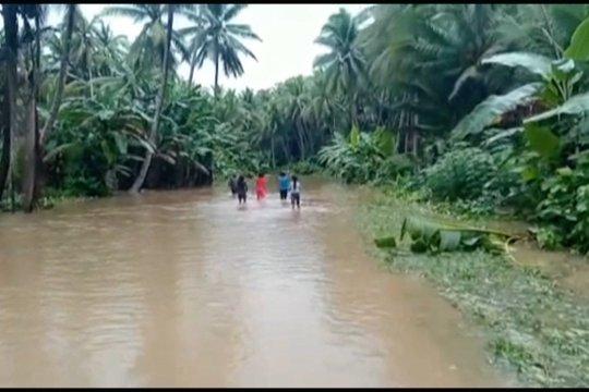 Banjir melanda Morotai akses transportasi darat terputus