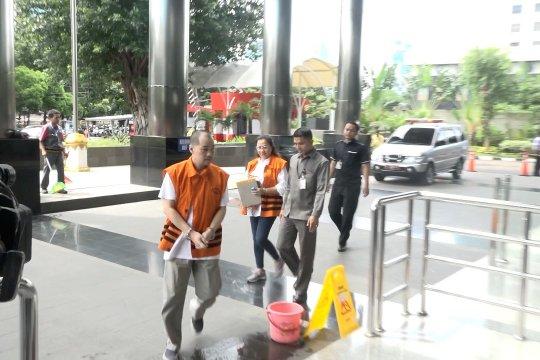 KPK periksa Wahyu Setiawan dan 2 tersangka lain