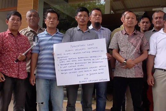 Nelayan Natuna tolak kedatangan kapal nelayan Pantura