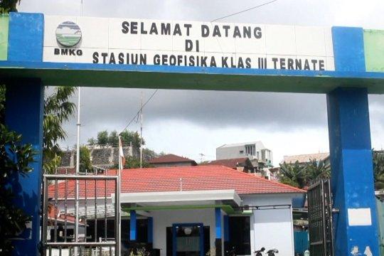 Sepanjang 2019, sebanyak 1659 gempa melanda Maluku Utara