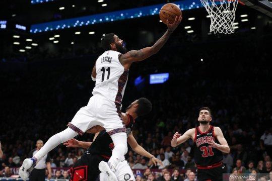 Kyrie Irving cedera lutut saat Nets kalah oleh Wizard, akan jalani MRI