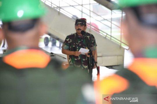 Panglima TNI berangkatkan Satgas Garuda tangani Karhutla Australia