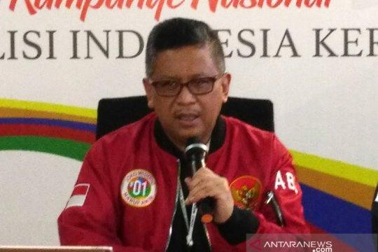 """Hasto Kristiyanto jelaskan percakapan """"DP penghijauan"""" di persidangan"""