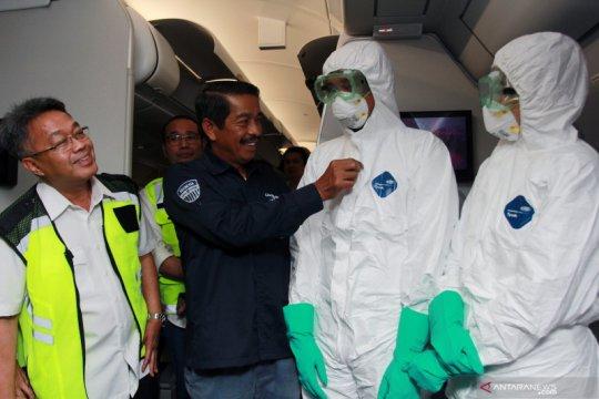 Kemenhub pastikan pilot meninggal karena corona tidak terbang ke Wuhan