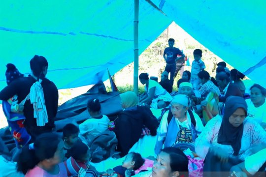 166 warga mengungsi akibat banjir bandang di Jember