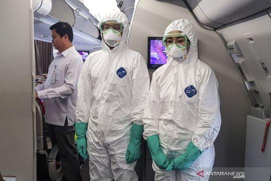 Persiapan evakuasi WNI dari Wuhan