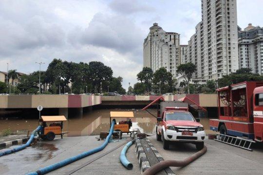 Penanganan banjir Underpass Kemayoran tanggung jawab PPK Kemayoran