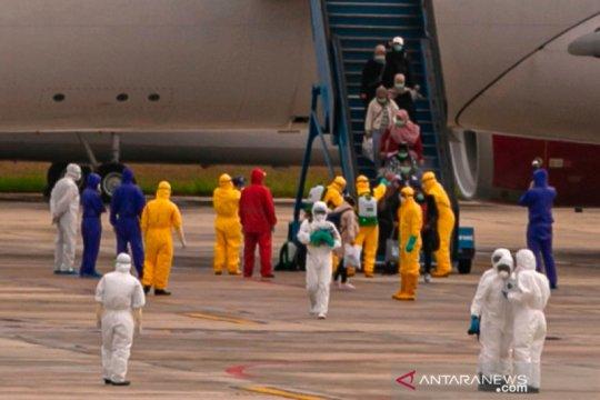 WNI dari Wuhan tiba di bandara Hang Nadim Batam