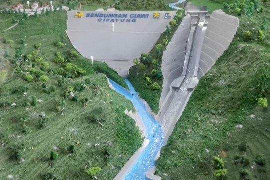 Menanti dua bendungan kering pertama pengendali banjir Jabodetabek