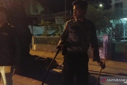 Gerombolan orang tidak dikenal serang warga di Jalan Veteran Padang