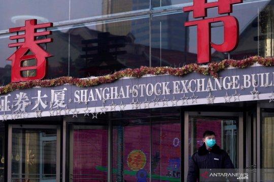 Saham China berakhir melonjak setelah jatuh akhir pekan lalu