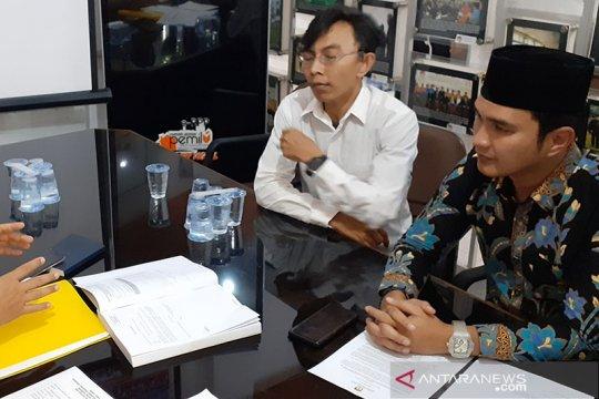Aldi Taher datangi KPU Sumbar berkonsultasi pendaftaran Pilkada 2020