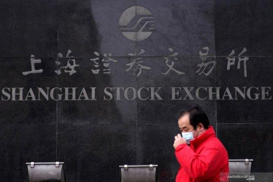 Saham China dibuka lebih rendah setelah melonjak sehari sebelumnya