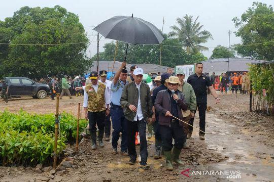 Presiden: Kebijakan nasional-daerah harus sensitif soal bencana