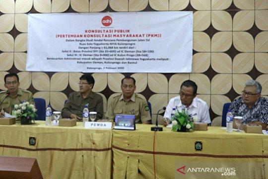 Lima kecamatan di Kulon Progo terkena dampak Tol Yogyakarta-Solo