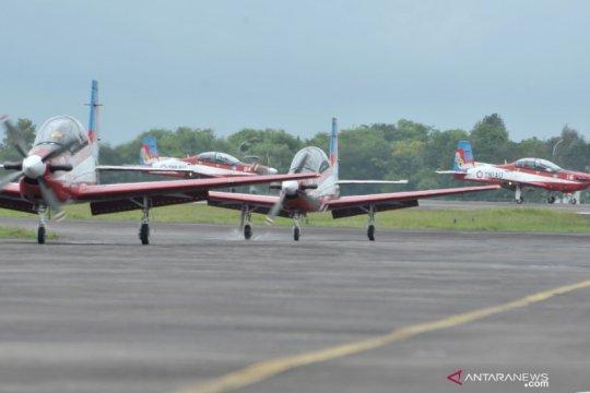 Jupiter AerobaticTeam singgah di Palembang