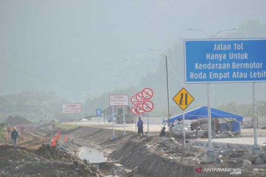 Progres pembangunan tol Padang-Sicincin