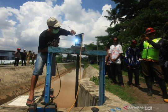 Polemik air irigasi di Sleman