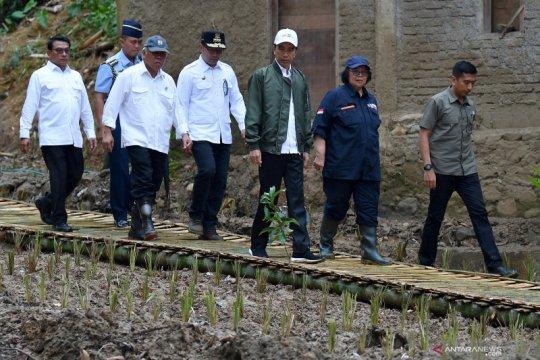 Presiden tekankan pendekatan vegetatif di daerah rawan banjir-longsor
