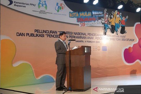Bappenas: Tantangan besar pembangunan SDM adalah perkawinan anak